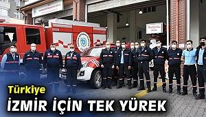 Türkiye İzmir için tek yürek oldu!