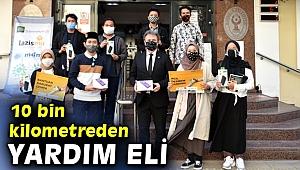 10 bin kilometreden İzmir'e uzanan yardım eli