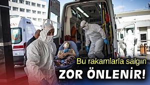 2 bin 841 kişiye Kovid-19 tanısı konuldu, 88 kişi hayatını kaybetti