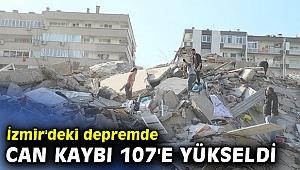 AFAD açıkladı! İzmir'deki depremde can kaybı 107'e yükseldi