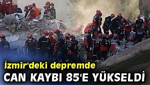 AFAD açıkladı! İzmir'deki depremde can kaybı 85'e yükseldi