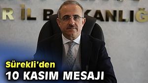 AK Parti İzmir İl Başkanı Sürekli'den 10 Kasım mesajı