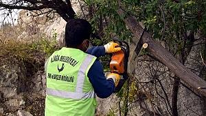 Aliağa Belediyesi'nden Güzelhisar'da Hummalı Çalışma