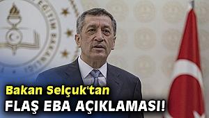 Bakan Selçuk'tan flaş EBA açıklaması!