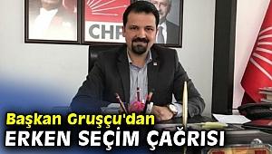 Başkan Gruşçu'dan erken seçim çağrısı