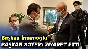 Başkan İmamoğlu, Başkan Soyer'i ziyaret etti