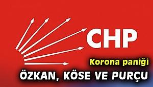CHP'de Tuncay Özkan, Fatma Köse ve Özcan Purçu coronaya yakalandı