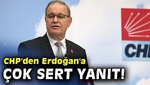CHP'den Erdoğan'a çok sert yanıt!