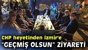 "CHP heyetinden İzmir'e ""geçmiş olsun"" ziyareti"