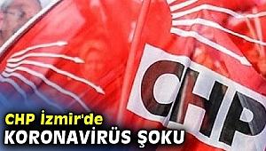 CHP İzmir'de koronavirüs şoku