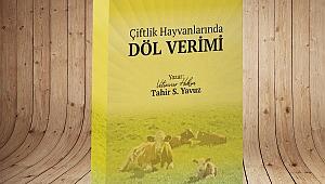 """""""Çiftlik Hayvanlarına Döl Verimi"""" kitabı yayınlandı"""