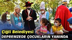 Çiğli Belediyesi'nden depremzede çocuklar için aktivite