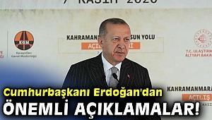 Cumhurbaşkanı Erdoğan'dan önemli açıklamalar! Kimse bizi hedef almazdı