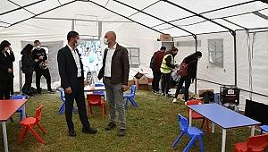 Foça belediyesi'nden deprem dayanışmasına destek