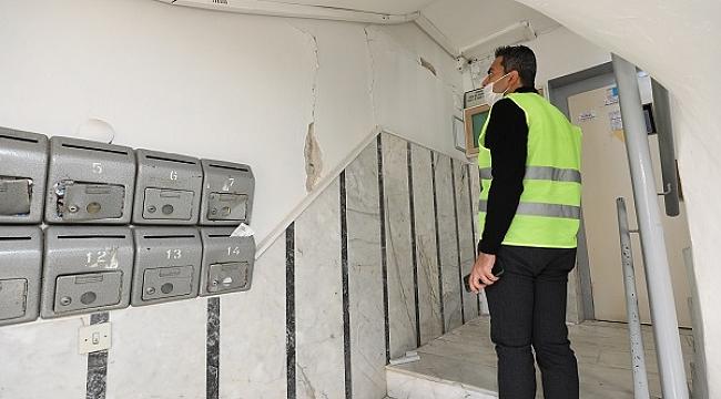 Gaziemir Belediyesi depremin yaralarını sarıyor