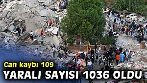 İzmir'de can kaybı artıyor! 109 kişi hayatını kaybetti, 1.036  kişi yaralı...