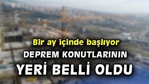 İzmir'de deprem konutlarının yapılacağı yer belli oldu