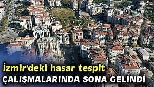 İzmir'deki hasar tespit çalışmaları son aşamada