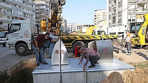 Karşıyaka'da yeraltı konteyner dönemi