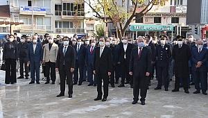 Kemalpaşa'da 10 Kasım Atatürk'ü anma günü töreni yapıldı