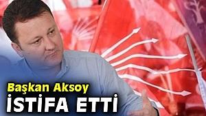 Menemen Belediye Başkanı Aksoy istifa etti