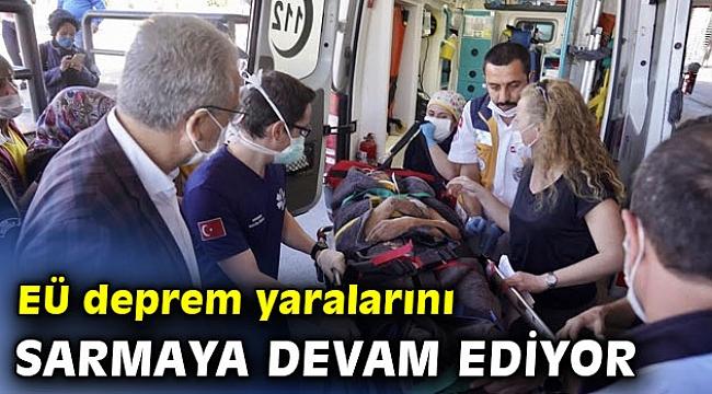 """Prof. Dr. Budak """"Egeli sağlık çalışanları özveriyle çalışıyor"""""""