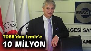 TOBB, İzmir'e 10 milyon yatırımla okul yaptıracak