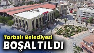 Torbalı'da belediye deprem nedeniyle taşındı