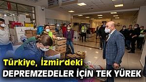 Türkiye, İzmir'deki depremzedeler için tek yürek