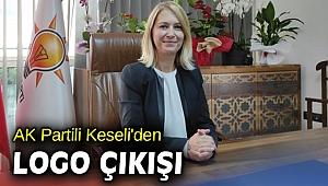AK Partili Keseli'den logo çıkışı