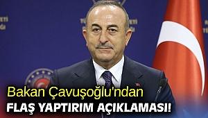 Bakan Çavuşoğlu'ndan flaş yaptırım açıklaması!