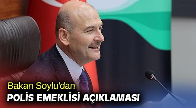 Bakan Soylu'dan polis emeklisi açıklaması