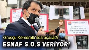 Başkan Gruşçu: Esnaf entübe çözüm CHP