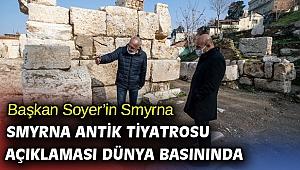 Başkan Soyer'in açıklaması dünya basınında!