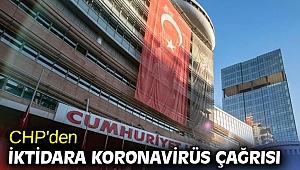 CHP'den iktidara koronavirüs çağrısı!