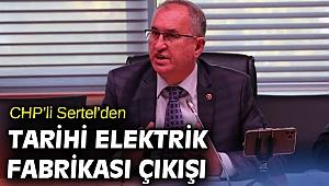 CHP'den Tarihi Elektrik Fabrikası çıkışı! İhalenin iptali siyasi karardır