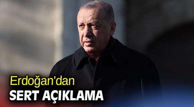 Cumhurbaşkanı Erdoğan'dan sert açıklama: Şirazesi kaybolmuştur