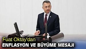 Cumhurbaşkanı Yardımcısı Oktay'dan enflasyon ve büyüme mesajı
