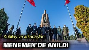 Devrim şehidi Kubilay ve arkadaşları unutulmadı!