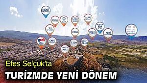 Efes Selçuk'ta turizmde yeni dönem