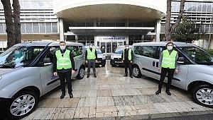 Gaziemir Belediyesi'nden filyasyon ekiplerine ulaşım desteği