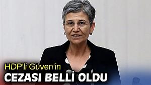 HDP'li Güven'in cezası belli oldu
