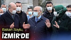 İçişleri Bakanı Soylu, İzmir'de
