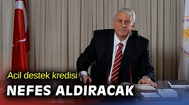 İESOB Başkanı Mutlu: Depremzede esnafa acil destek kredisi nefes aldıracak