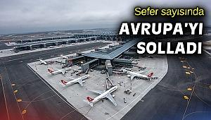 İstanbul Havalimanı Avrupa'da en çok seferin yapıldığı havalimanı oldu