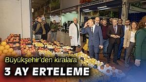 İzmir Büyükşehir, esnaftan kira alacağını 3 ay erteliyor