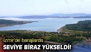 İzmir'de barajlarda seviye biraz yükseldi!