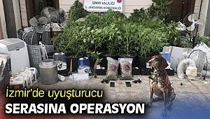 İzmir'de düzenlenen uyuşturucu operasyonunda 4 kişi yakalandı