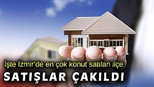 İzmir'de konut satışları yüzde 22,0 oranında azaldı
