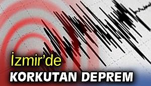 İzmir açıklarında 4,3 büyüklüğünde deprem